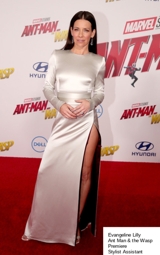 Evanegaline Lilly Ant Man & the Wasp Premiere