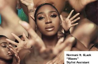 "Normani ft 6Lack ""Waves""; Stylist Assist"
