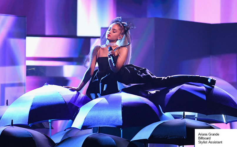 Ariana Grande: Billboard Awards; Stylist Assistant
