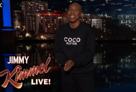 Lena Waithe Hosting Jimmy Kimmel (Stylis