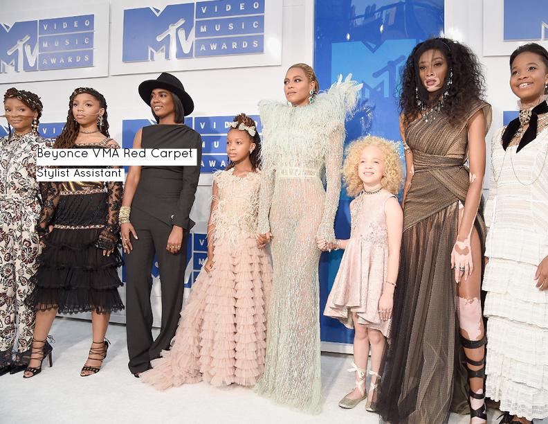 Beyonce VMA Red Carpet