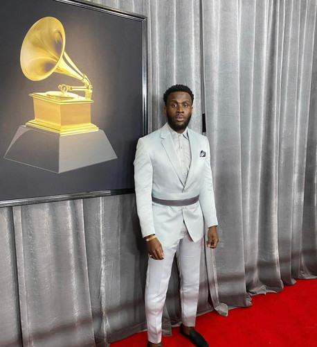 Producer Mikey Grammy Red Carpet