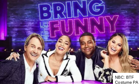 NBC's Bring the Funny Costume PA