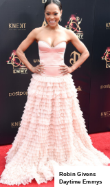 Robin Givens Daytime Emmy's Red Carpet