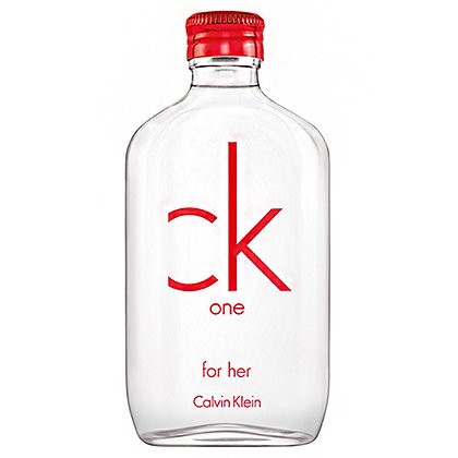 CK One Red Feminino Eau de Toilette