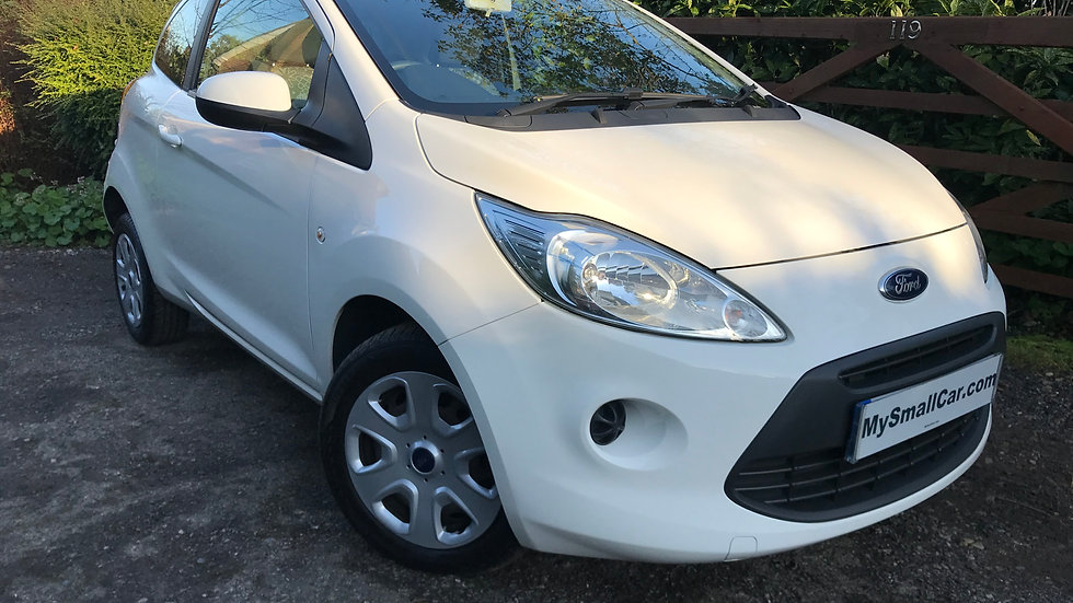 2013/13 FORD KA 1.2 EDGE WITH ONLY 10,900 MILES...