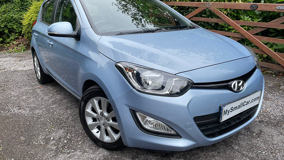 2014/63 HYUNDAI i20 1.2 16V ACTIVE 5DR WITH ONLY 50,000 MILES