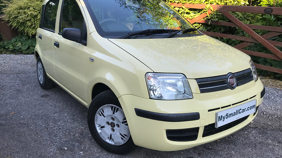 2009/09 FIAT PANDA 1.2 ECO DYNAMIC WITH ONLY 59,000 MILES..