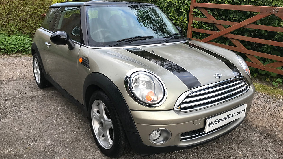 2007/07 MINI 1.6 COOPER, CHILLI AND ROOF WITH ONLY 43,000 MILES