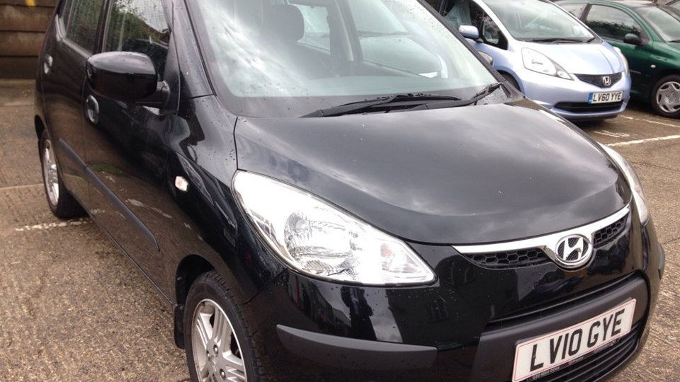 2010/10 HYUNDAI i10 COMFORT 5DR, ONLY 60,000 MILES, RECENT SERVICE, LONG MOT