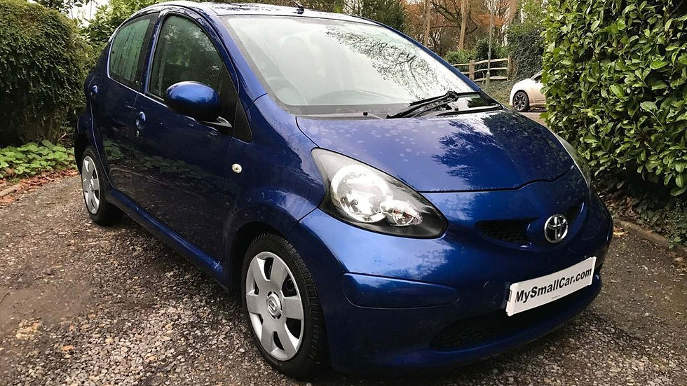 2007/07/ TOYOTA AYGO 1.0 BLUE EDITION 5DR AUTOMATIC