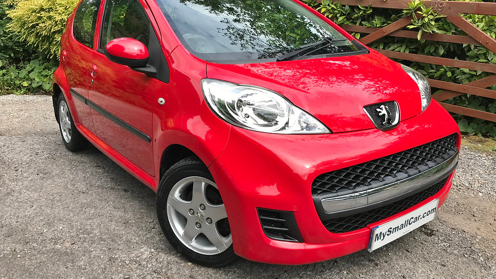 2010/59 PEUGEOT 107 1.0 VERVE 5DR WITH ONLY 70,000 MILES