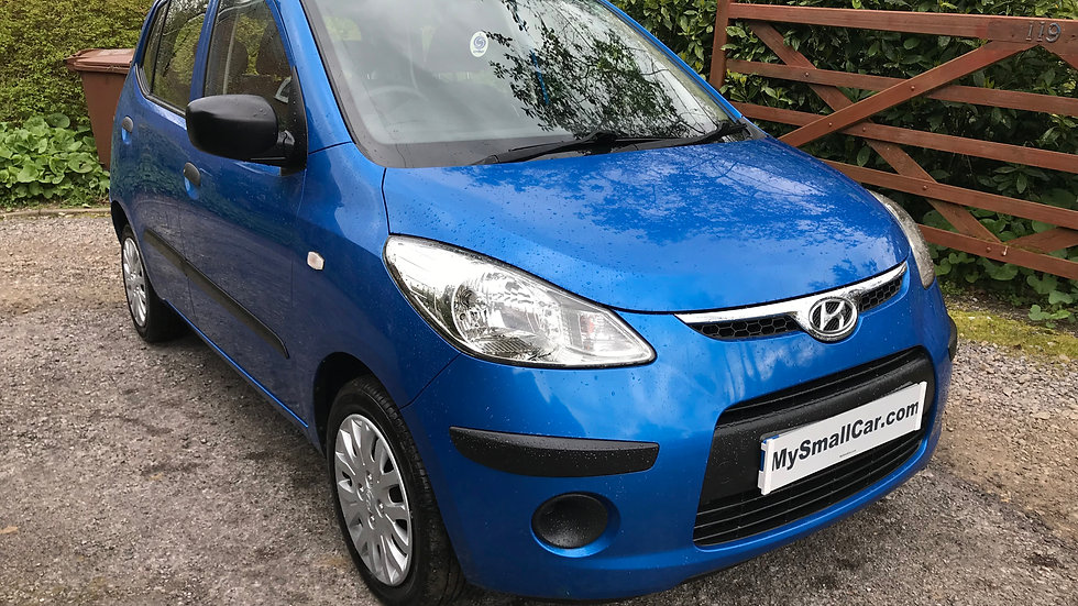 2010/10 HYUNDAI i10 1.2 CLASSIC 5DR WITH ONLY 66,000 MILES