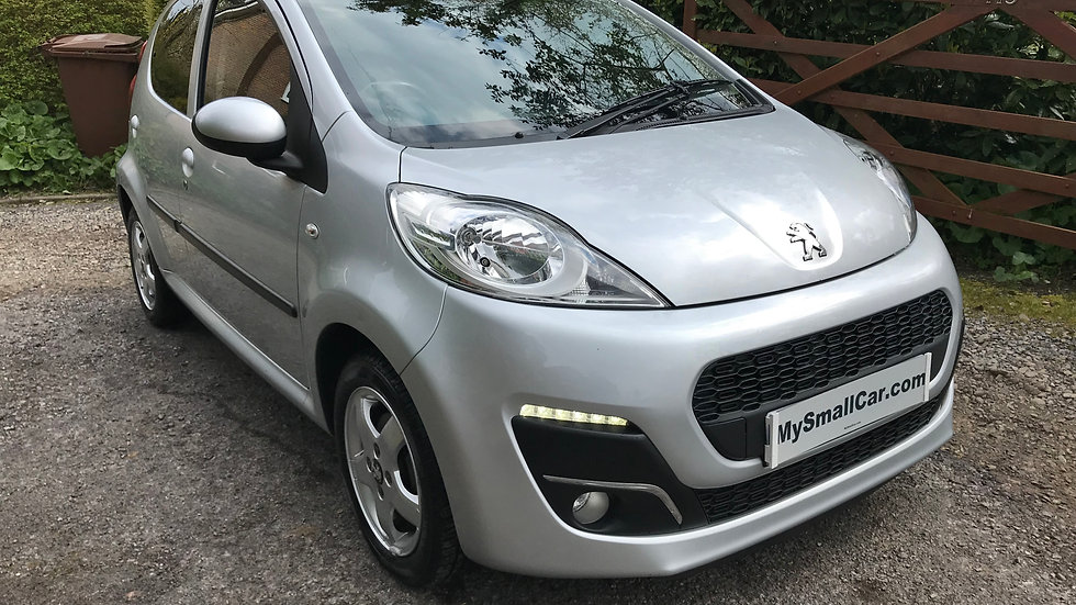 2013/13 PEUGEOT 107 ALLURE 5DR WITH ZERO ROAD TAX