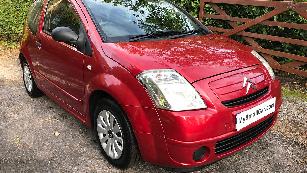 2006/55 Citroen C2 1.1 Design with only 79,000 miles..