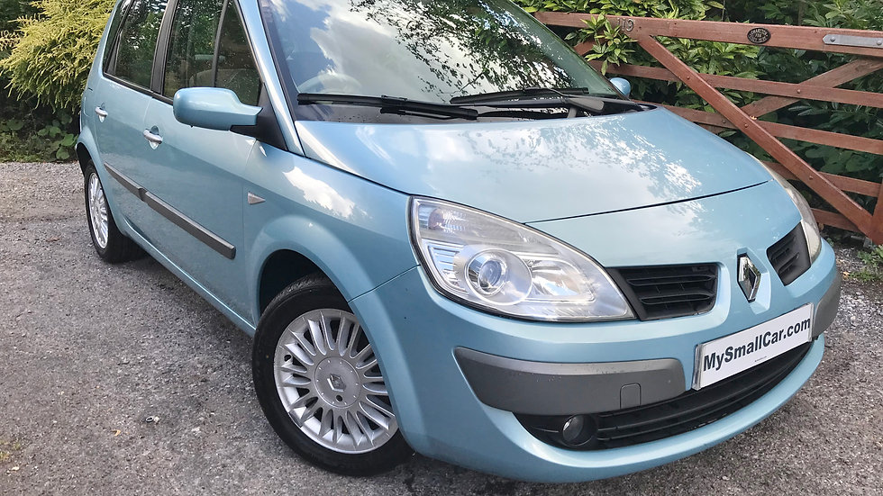 2007/56 RENAULT SCENIC 1.6 VVT PRIVILEGE AUTOMATIC WITH ONLY 70,000 MILES
