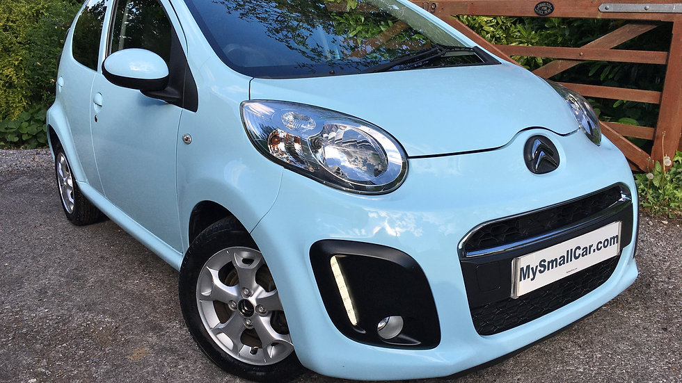 2014/63 CITROEN C1 1.0 VTR+ AUTOMATIC 5DR WITH ONLY 27,000 MILES..
