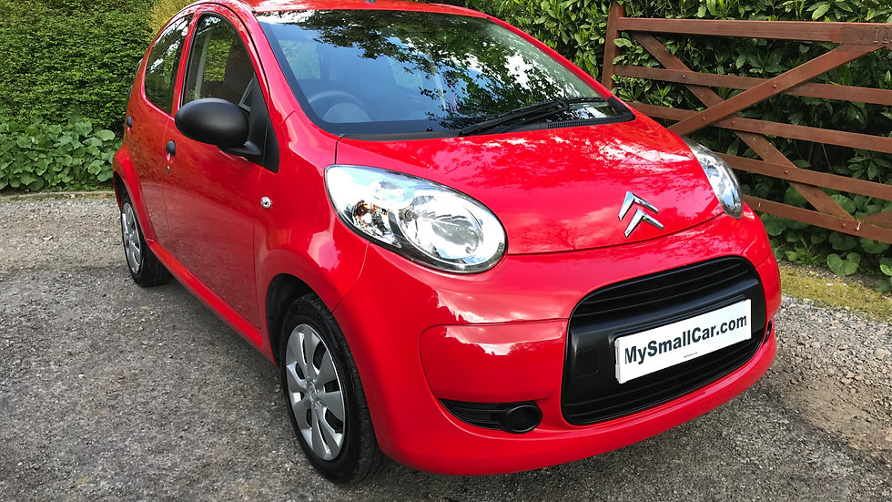 2011/60 CITROEN C1 VTR 5DR WITH ONLY 55,000 MILES