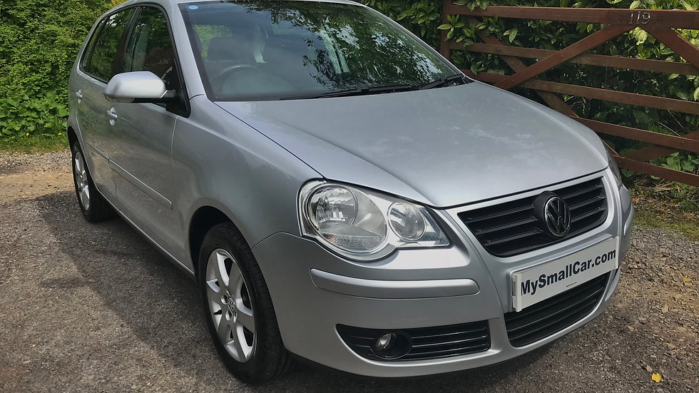 2008/08 Volkswagen Polo 1.4 Match 5dr AUTOMATIC with only 44,000 miles