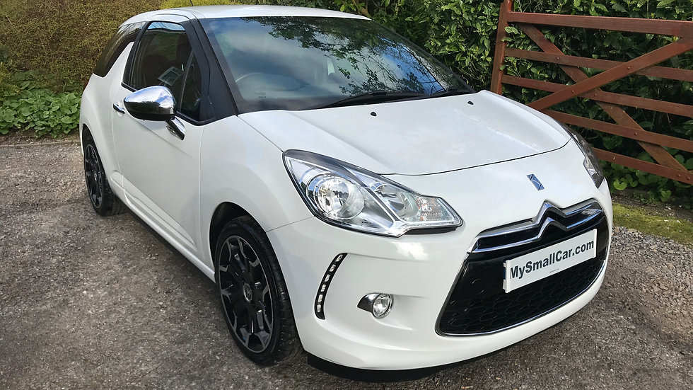 2011/11 CITROEN DS3 1.6 VTi WHITE EDITION WITH FULL CITROEN SERVICE HISTORY