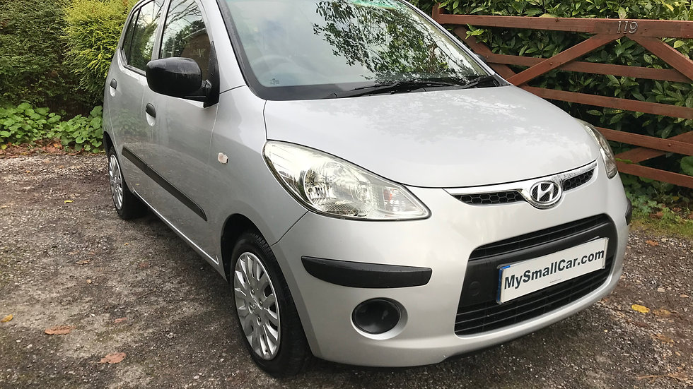 2009/09 HYUNDAI i10 1.2 CLASSIC 5DR WITH ONLY 55,000 MILES