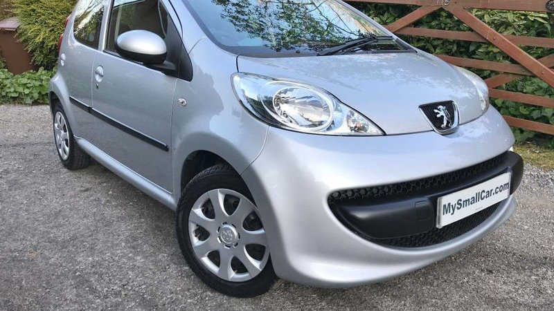 2007/56 PEUGEOT 107 1.0 URBAN AUTOMATIC 5DR WITH ONLY 45,000 MILES