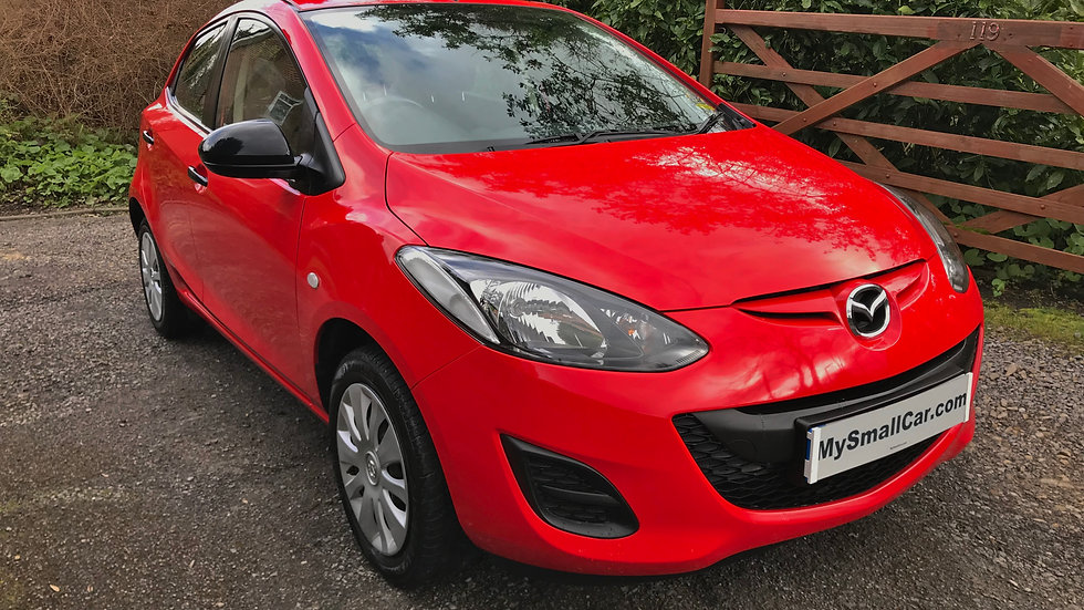 2012/12 MAZDA 2  1.3 TS 5DR WITH ONLY 40,000 MILES