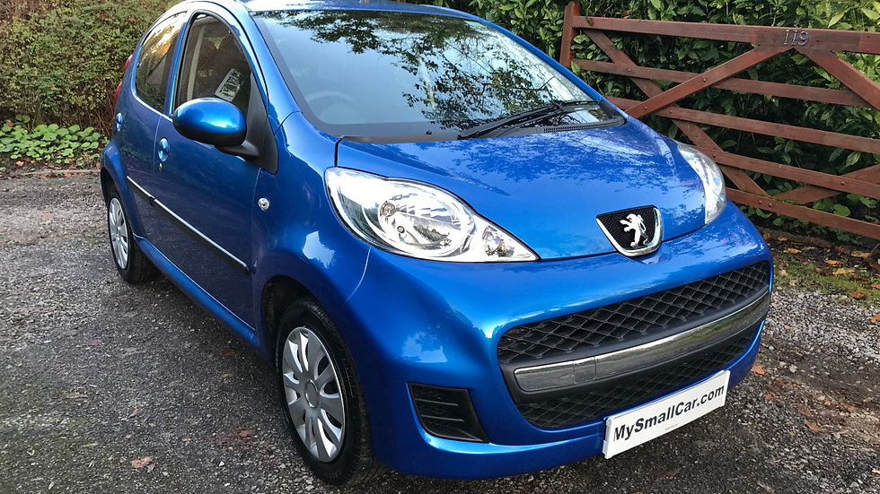 2011/11 PEUGEOT 107 URBAN 5DR WITH ONLY 45,000 MILES
