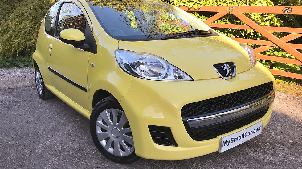 2010/10 PEUGEOT 107 1.0 URBAN 3DR AUTOMATIC WITH ONLY 79,000 MILES