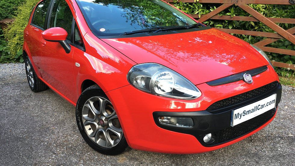 2012/61 FIAT PUNTO EVO 1.3 MULTIJET GP WITH ONLY 50,000 MILES..