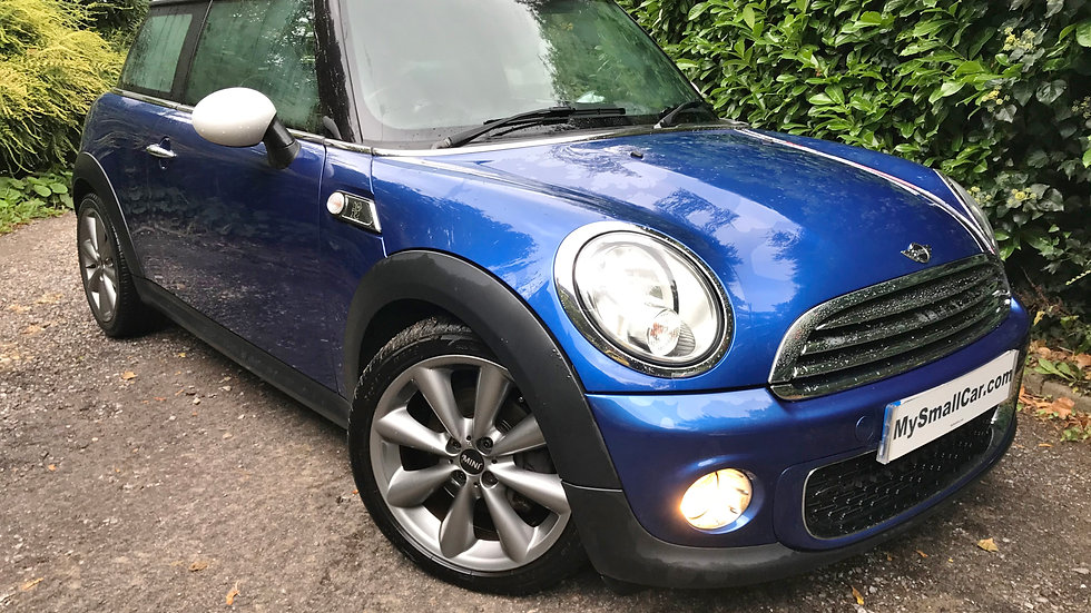 2012/62 MINI 1.6 COOPER D LONDON 2012 LIMITED EDITION (HUGE SPECIFICATION)