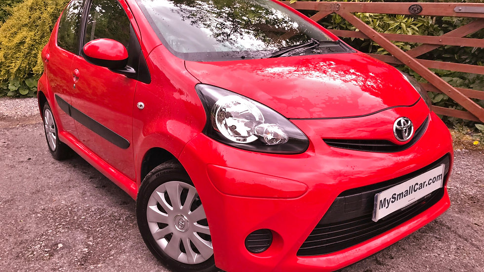 2014/14 TOYOTA AYGO 1.0 MOVE 5DR WITH ONLY 60,000 MILES