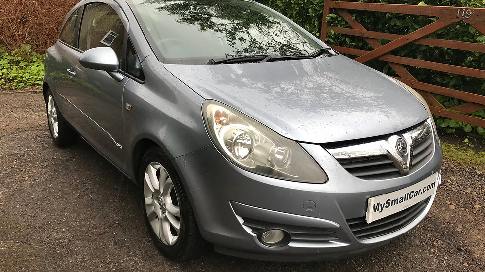08/57 VAUXHALL CORSA 1.4 16V SXi AUTOMATIC, 1 OWNER FROM NEW WITH F.V.S.H