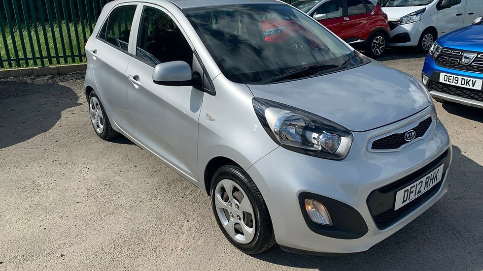 2012/12 KIA PICANTO 1.0 1 WITH ONLY 48,000 MILES