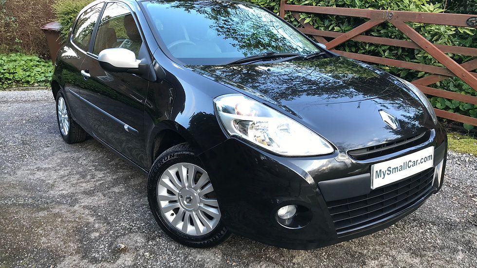 2011/60 RENAULT CLIO 1.2 16V i-MUSIC WITH AIR CONDITIONING