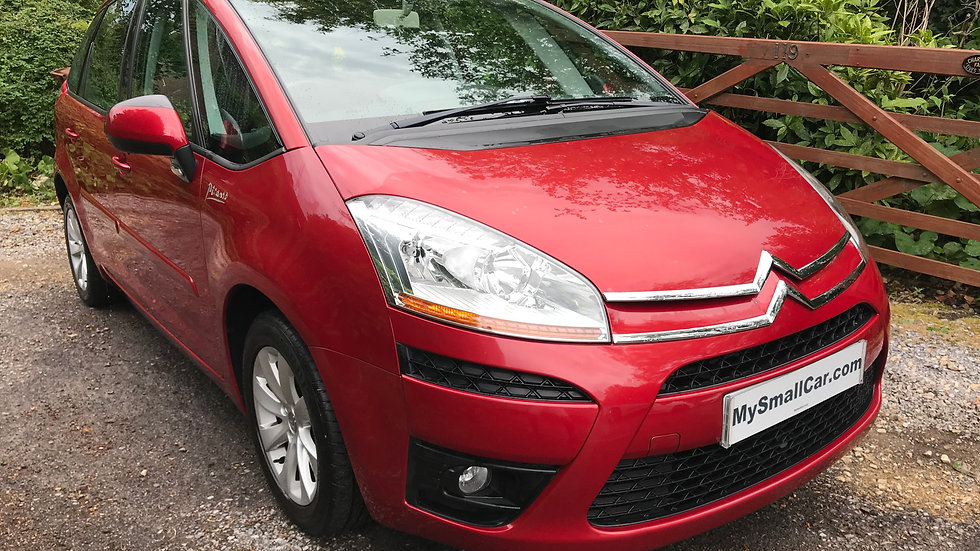 2009/09 CITROEN C4 PICASSO 1.6 VTi VTR+ WITH ONLY 49,000 MILES