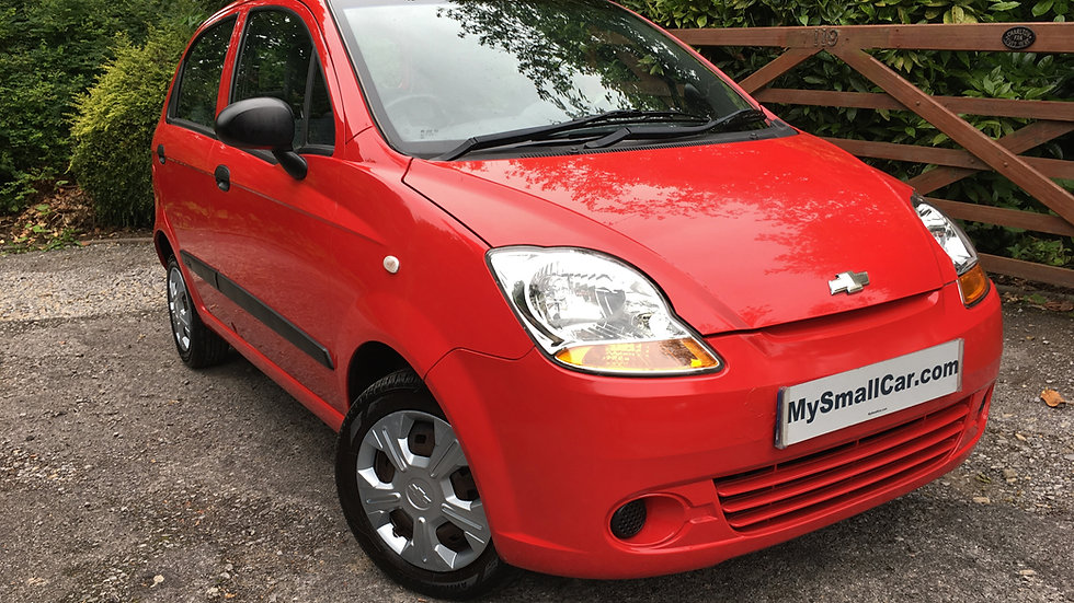 2010/59 CHEVROLET MATIZ 0.8 S 5DR WITH ONLY 51,000 MILES