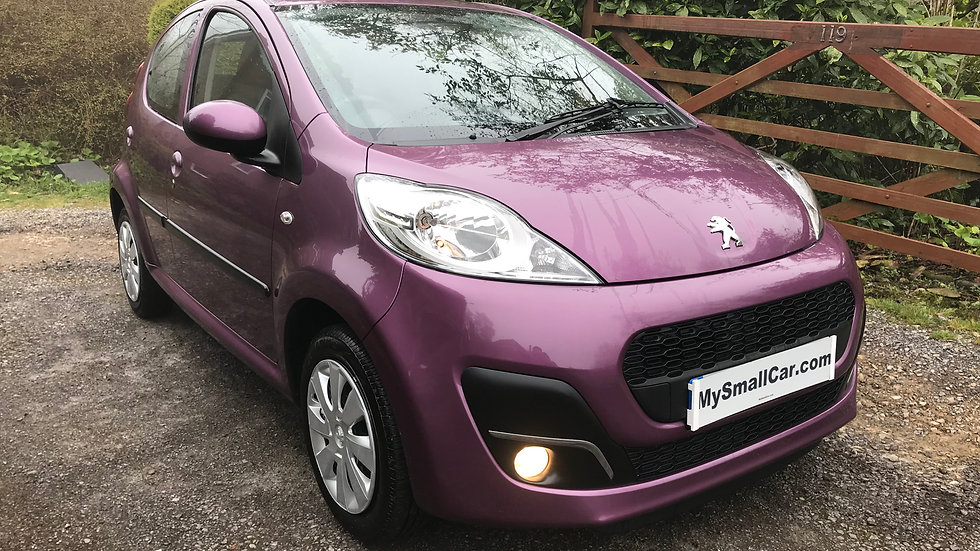 2013/13 Peugeot 107 Active 5dr with only 19,000 miles...