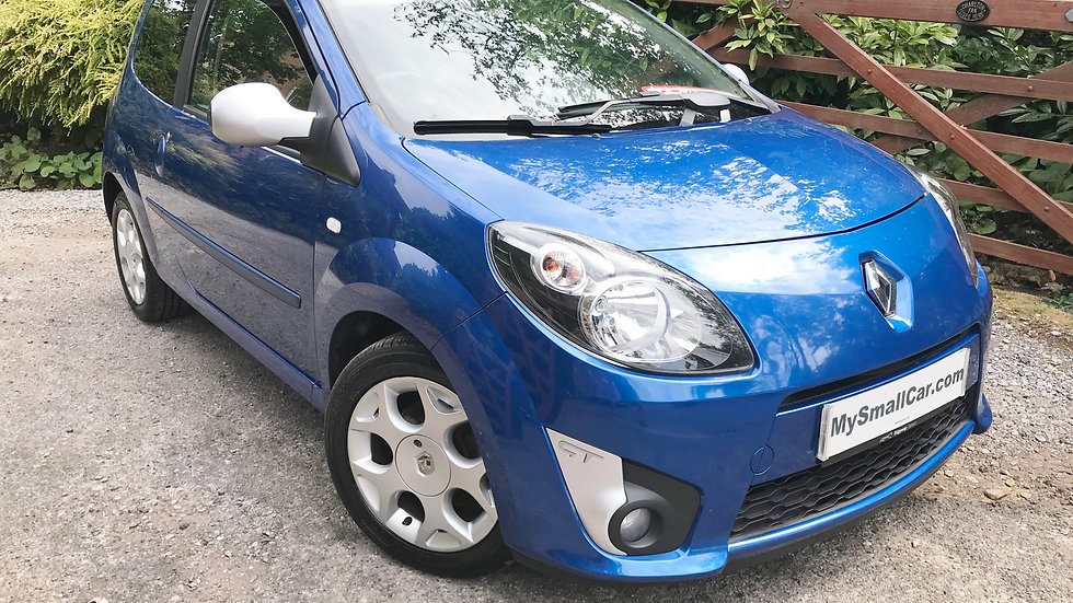 2009/58 RENAULT TWINGO 1.2 TCE GT WITH ONLY 68,000 MILES
