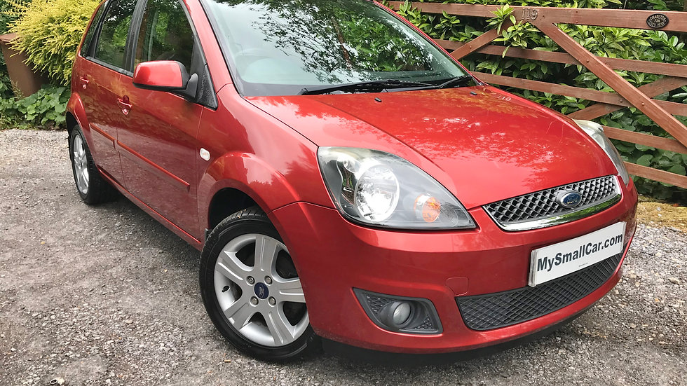 2007/07 FORD FIESTA 1.4 TDCi ZETEC 5DR WITH ONLY 55,000 MILES