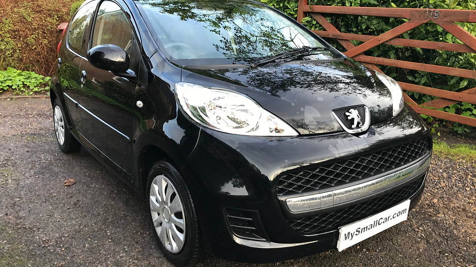 2012/12 PEUGEOT 107 URBAN 5DR WITH ONLY 50,000 MILES