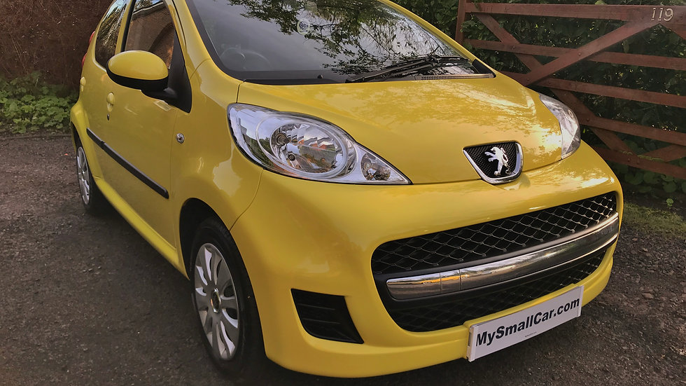 2010/10 PEUGEOT 107 URBAN 5DR WITH ONLY 55,000 MILES