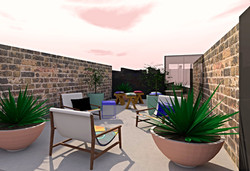 Addison Rd Rooftop Terrace