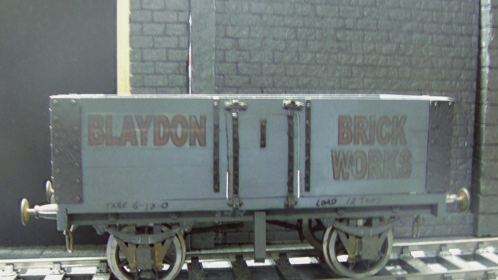 Blaydon Brick Works Wagon