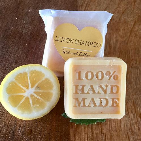 Lemon Shampoo Bars