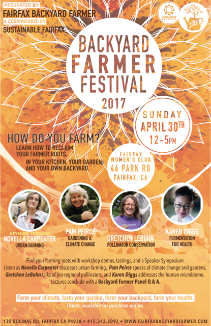 Backyard Farmer Festival coming this weekend!
