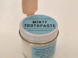 Minty Toothpaste Recipe