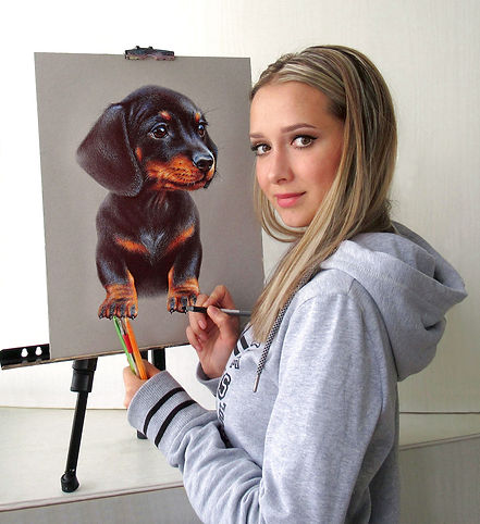 Artist Kate Mur