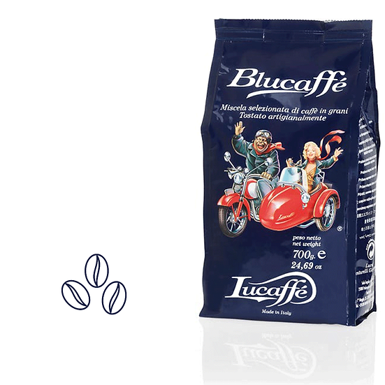 Blucaffe Lucaffe קפה לוקפה