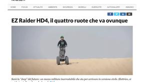 EZ Raider HD4, l'elettrico inarrestabile